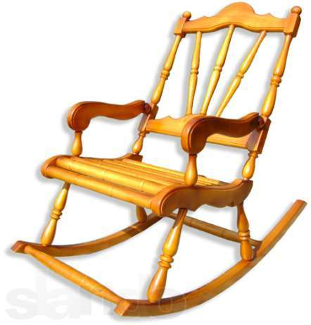 Кресло качалка из сосны